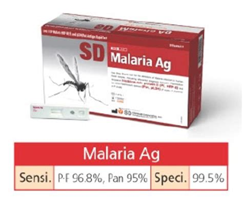 Alat Tes Malaria puskesmas tumpung laung tes malaria sd bio line malaria
