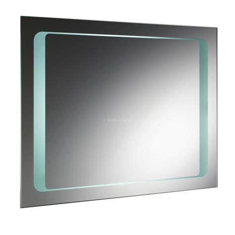 hudson reed bathroom mirrors hudson reed insight backlit mirror with de mist pad
