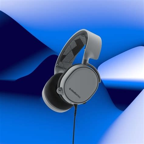 Steelseries Arctis 3 Slate Grey Surround Gaming Headset steelseries makes a splash with new arctis colors