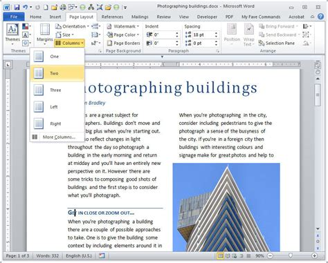 journal layout in microsoft word how to use microsoft word as a desktop publishing tool
