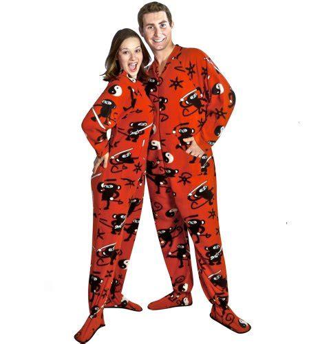 drop seat pajamas for family monkey print footed pajamas with drop seat