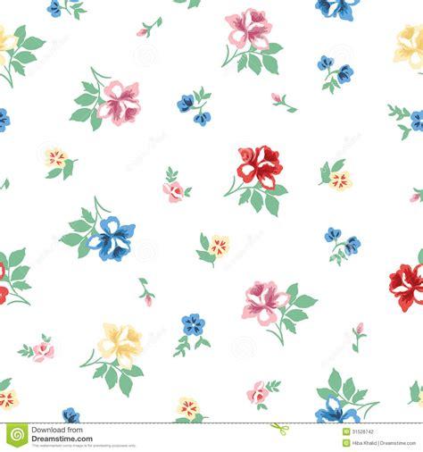 pattern flower vintage vector vintage flower pattern stock vector illustration of