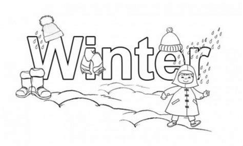 Winter Time Coloring Page Coloring Book Winter Time Coloring Pages