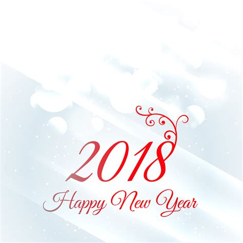 new year greeting card design 2018 happy new year greeting card design background