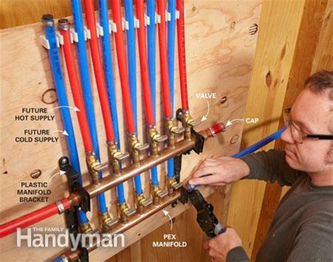 How To Use Pex Plumbing by Pex Piping Everything You Need To The Family Handyman