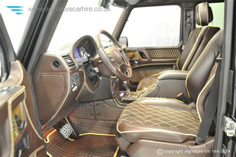 Mercedes Brabus Interior by Exclusive Mercedes Brabus Hire Cars Available At Signature