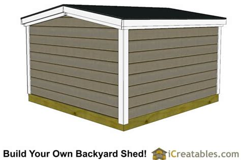 6 By 8 Shed Plans by 8x8 Backyard 6 Foot Homeowners Association Compliant