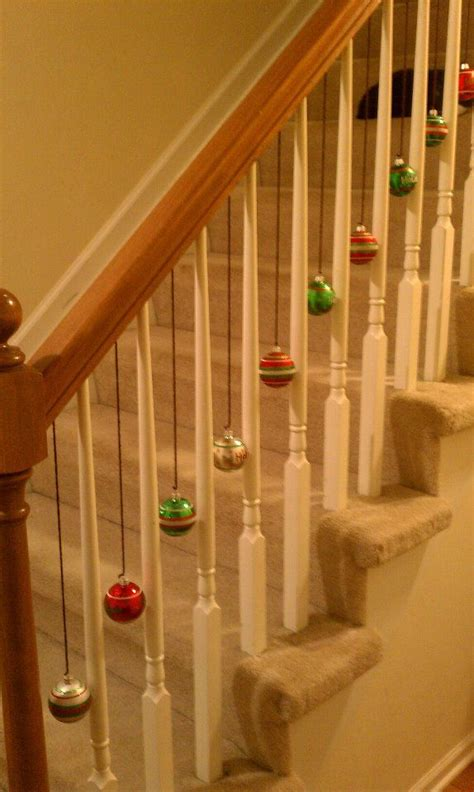 banister decorating ideas 17 best ideas about christmas staircase on pinterest