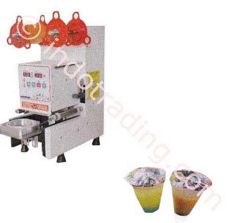 Mesin Minuman Otomatis jual mesin cup sealer otomatis mesin penutup gelas minuman