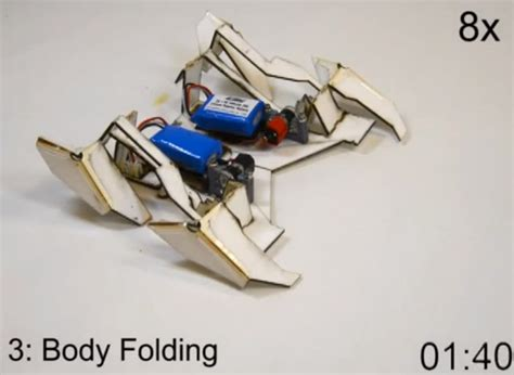 cara membuat origami robot transformer the end nears self assembling origami robots geekologie