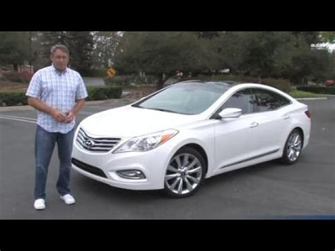 hyundai azera limited 2014 2014 hyundai azera limited test drive review