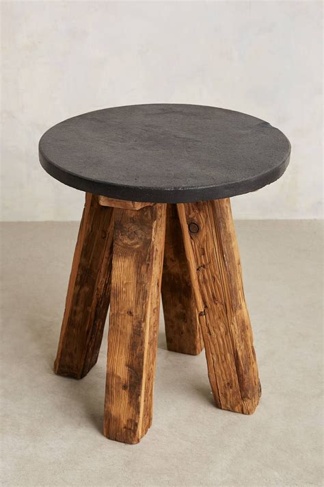 slate top side table slate top side table slate living room decorating ideas