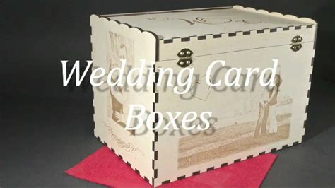 wedding card box ideas personalized