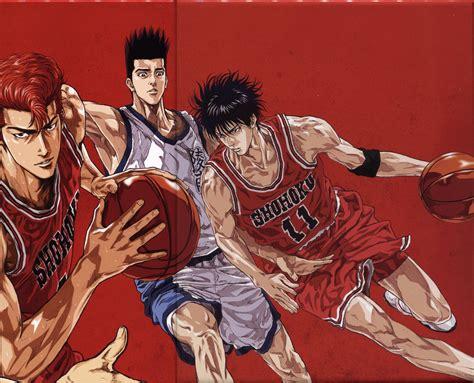 wallpaper hd anime slam dunk anime sports basketball group guys slam dunk series
