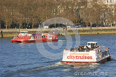london westminster to greenwich river thames cruise london tour boat on thames river editorial stock image