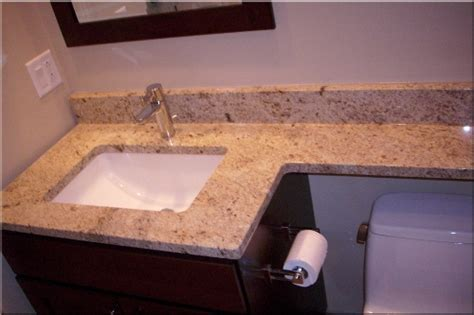 how to install bathroom countertop how to install bathroom granite countertops 5 ways for