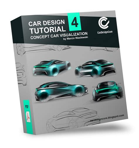 Design Concept Tutorial | car design core here and now tutorial 4 concept car
