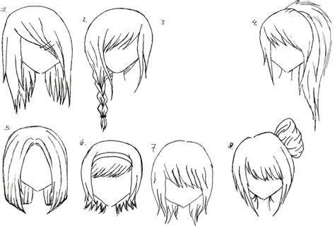 girl hairstyles manga easiest hairstyle anime hairstyles