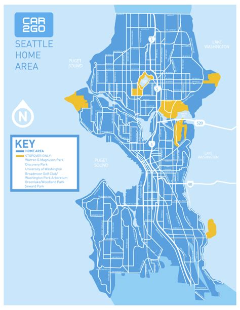 seattle map go car2go expanding to all of seattle starting tuesday