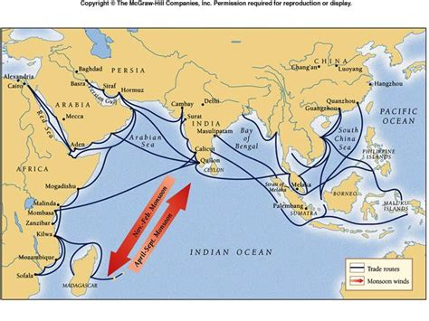 trade pattern of indonesia map of indian ocean trade lauren cordes indian ocean