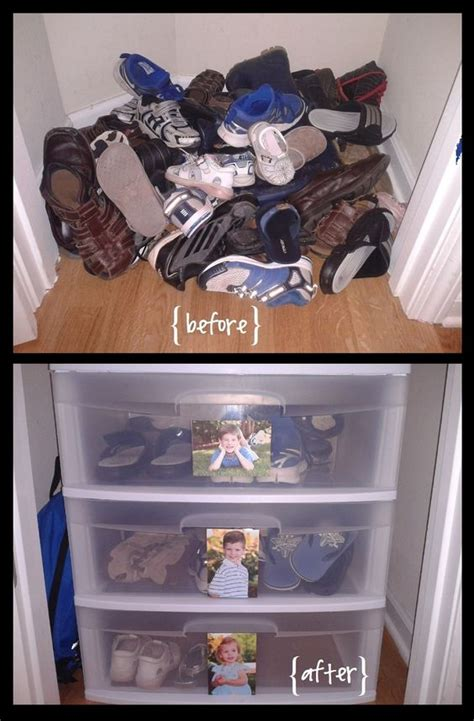 children s shoe storage smart house organization ideas