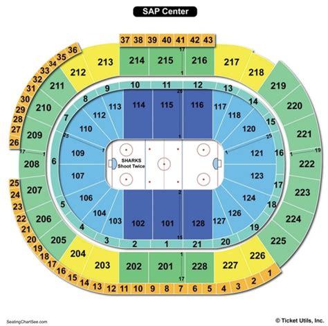 sap center seating sap center seating chart seating charts and tickets