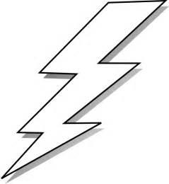 Lightning Bolt Black And White Black And White Lightning Bolt Clip At Clker