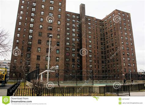 brooklyn housing court walt whitman projects brooklyn ny editorial photography image 42724497