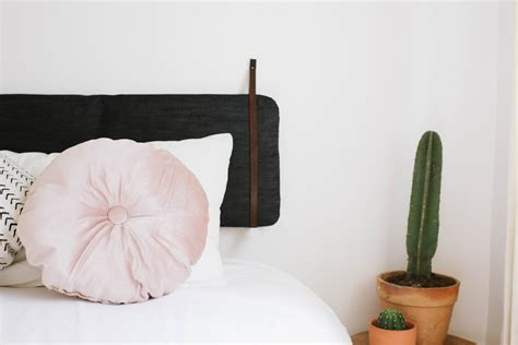 hanging cushion headboards diy cushion headboard an easy ikea hack a pair a spare