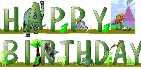 free printable dinosaur happy birthday banner free printable dinosaur birthday banner birthday party