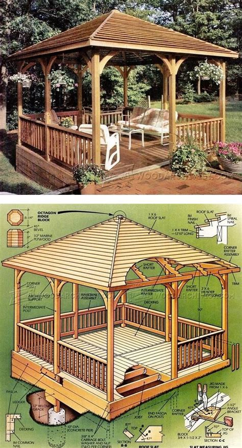 wooden garden gazebo best 25 gazebo plans ideas on diy gazebo diy