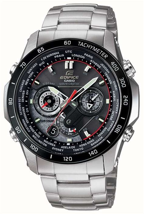 casio edifice wave ceptor eqw mdb aer  class watches