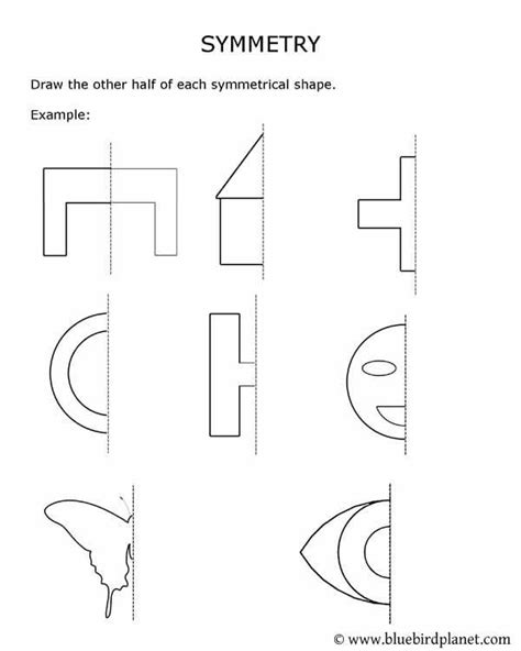 Lines Of Symmetry Worksheets by Symmetry Worksheets Kindergarten 1000 Images About