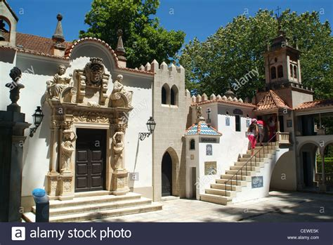 houses to buy in portugal miniature houses in portugal dos pequenitos theme park in coimbra stock photo royalty