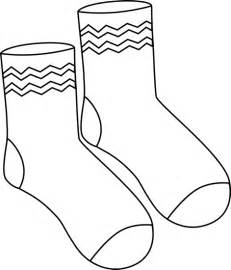 Mitten Pair Outline Black And White Of Funky sketch template