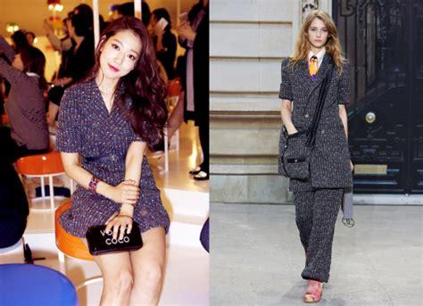 fesyen selebriti korea di chanel cruise 2016 collection