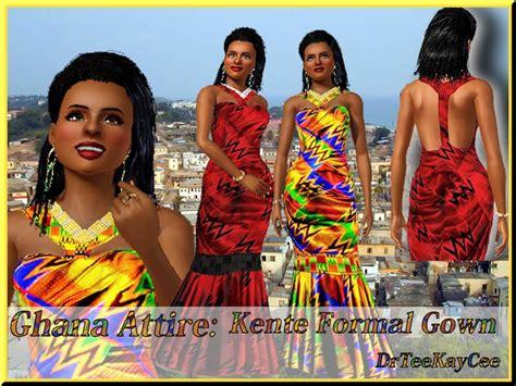 drteekaycee's Ghana Attire: Kente Gown