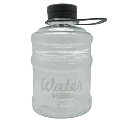 Botol Minum Mini Galon 650ml botol minum mini galon 650ml transparent