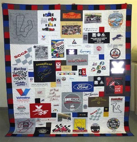 Race Shirt Quilt by Race Car Driver Memorial T Shirt Quilt The One Valvoline