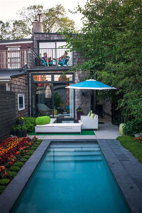 dazzeling four small pool designs that are waves