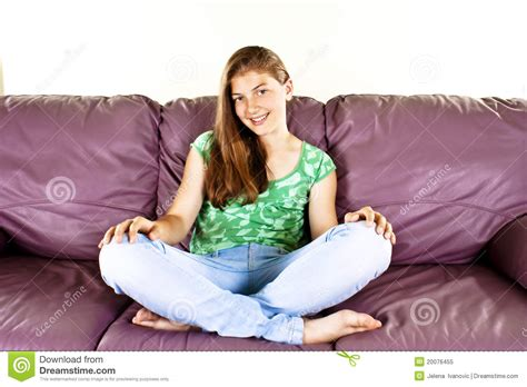 in home sitting beautiful sitting at home royalty free stock photo image 20076455