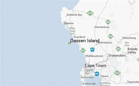dassen island weather station record historical weather