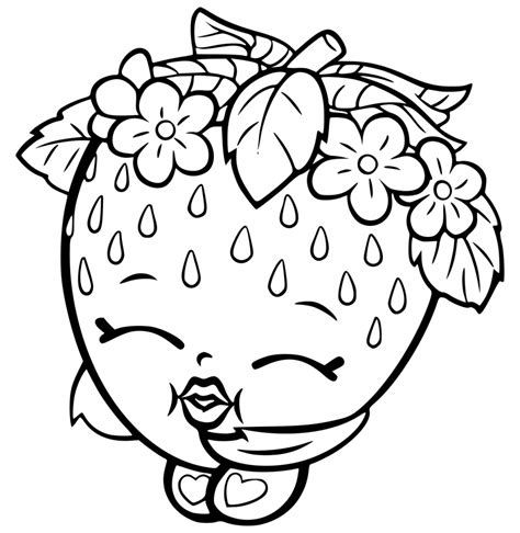 shopkins coloring pages best coloring pages for