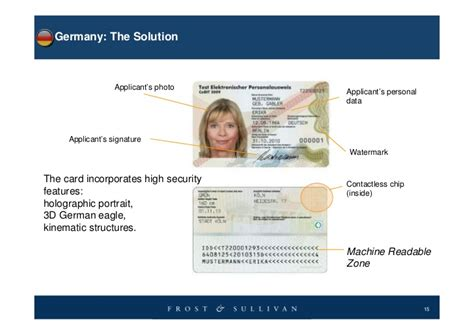 german id card template german identity card template 28 images cookit gallery