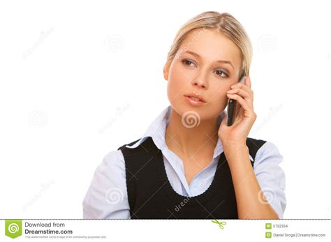 Or The Phone Business On The Phone Stock Images Image 5752334