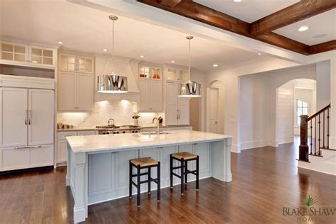 kitchen island overhang manor in brookhaven shaw homes atlanta athens custom homes and remodeling