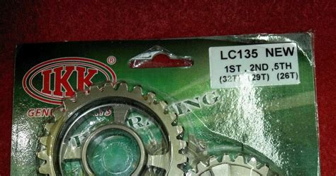 Cover Gear Rantai Vixion R15 palex motor parts gear set 1st 2nd and 5th lc135 spark135 sniper crypton x exciter 135