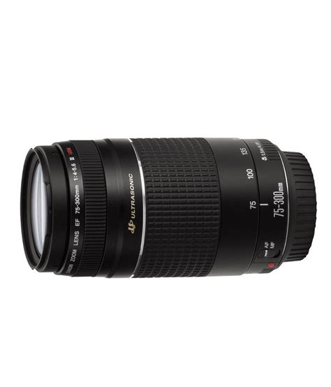 Lensa Canon 75 300mm F 4 5 6 Iii Usm canon ef 75 300mm f 4 5 6 iii usm lens price in india