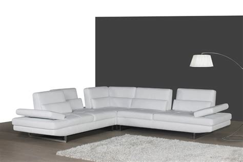 white modern leather sofa size of living room white