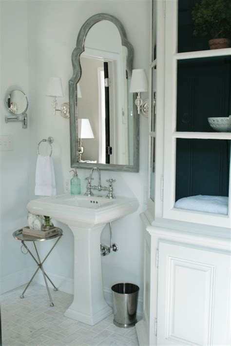 bathroom mirror with sconces robert abbey muse sconce transitional bathroom